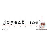 TAMPON JOYEUX NOEL par Laetitia67