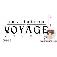 TAMPON INVITATION AU VOYAGE par Mauxane