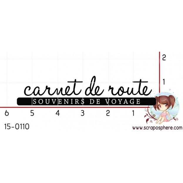 TAMPON CARNET DE ROUTE par Mauxane
