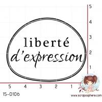 TAMPON LIBERTE D EXPRESSION par Mauxane