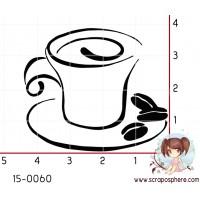 TAMPON TASSE DE CAFE par Scroixpe Suzette