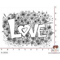 TAMPON LOVE FLEURI par Ghis