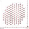 POCHOIR SCRAPOSPHERE - FOND ETOILES par Lily Fairy