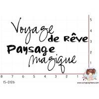 TAMPON VOYAGE DE REVE par Lily Fairy