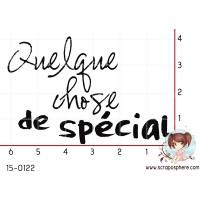TAMPON QUELQUE CHOSE DE SPECIAL par Lily Fairy