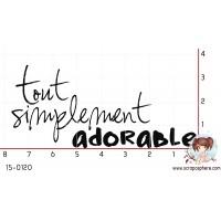 TAMPON TOUT SIMPLEMENT ADORABLE par Lily Fairy