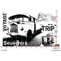 TAMPON VOYAGE SOUVENIRS TRIP par Lily Fairy