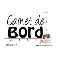 TAMPON CARNET DE BORD par cigalon