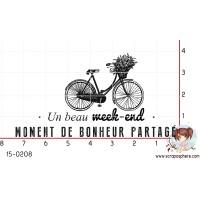 TAMPON MOMENT DE BONHEUR PARTAGE par Binka