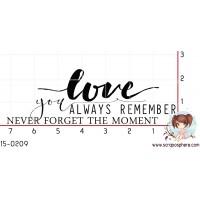 TAMPON LOVE NEVER FORGET par Binka