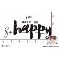 TAMPON YOU MAKE ME SO HAPPY par Binka