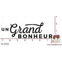 TAMPON UN GRAND BONHEUR par Binka