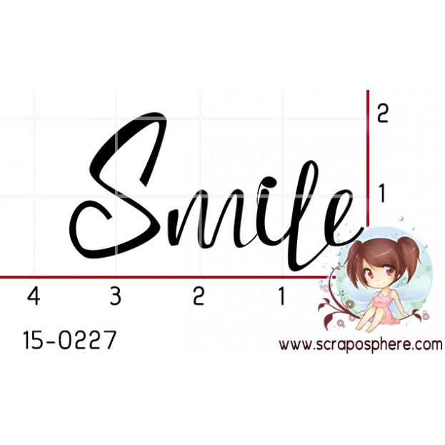 TAMPON SMILE CALLIGRAPHIE par Lily Fairy