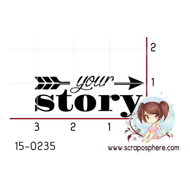 TAMPON YOUR STORY par Binka