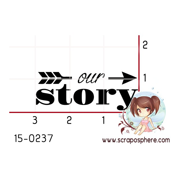 TAMPON OUR STORY par Binka
