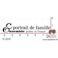 TAMPON PORTRAIT DE FAMILLE par Binka