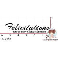 TAMPON FELICITATIONS par Binka