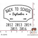 TAMPON BACK TO SCHOOL par Lily Fairy