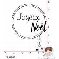 TAMPON CERCLE JOYEUX NOEL par Lily Fairy