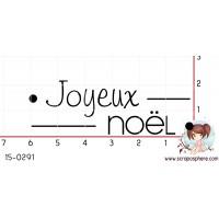 TAMPON JOYEUX NOEL par Lily Fairy