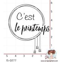 TAMPON PRINTEMPS par Lily Fairy