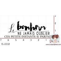 TAMPON LE BONHEUR par Binka