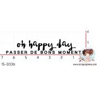 TAMPON OH HAPPY DAY (fr) par Binka