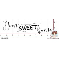 TAMPON HOME SWEET HOME par Lily Fairy