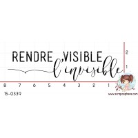 TAMPON RENDRE VISIBLE L INVISIBLE par Lily Fairy