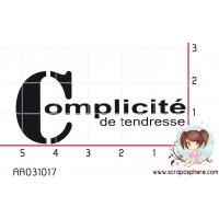 TAMPON COMPLICITE DE TENDRESSE