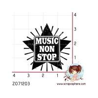 TAMPON ETOILE MUSIC NON STOP
