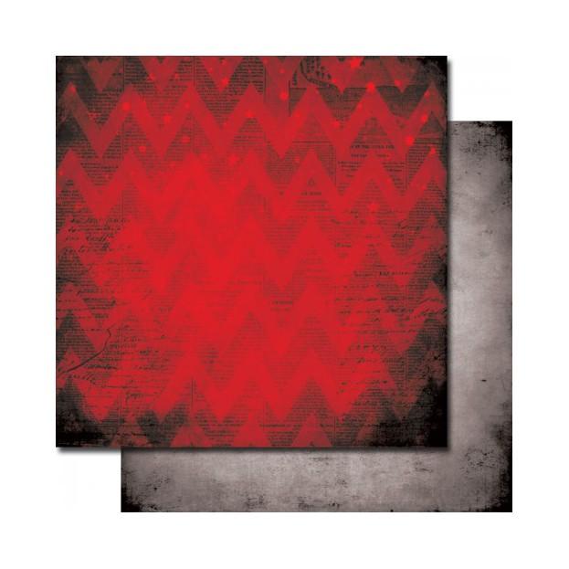 1 FEUILLE CARDSTOCK 30X30 GINGERBREAD YELETIDE - 7dots studio