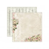 1 FEUILLE CARDSTOCK 30X30 TIME FILES - HOUSE OF ROSES - LEMONCRAFT