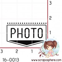 TAMPON RECTANGLE (horizontal) PHOTO par Lily Fairy
