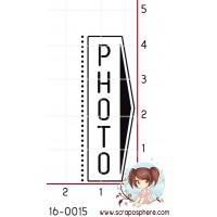 TAMPON RECTANGLE (vertical) PHOTO par Lily Fairy