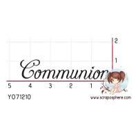 TAMPON COMMUNION par Lily Fairy