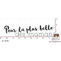 TAMPON POUR LA PLUS BELLE DES MAMANS par Lily Fairy