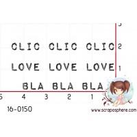 TAMPON CLIC CLIC CLIC par Créarel