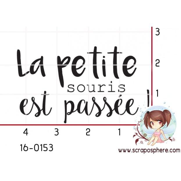 TAMPON LA PETITE SOURIS EST PASSEE par Créarel