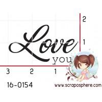 TAMPON LOVE YOU par Créarel