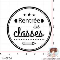 TAMPON RENTREE DES CLASSES CERCLE par Lily Fairy