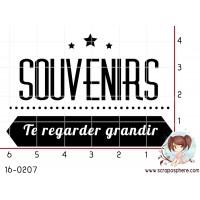 TAMPON SOUVENIRS TE REGARDER GRANDIR par Lily Fairy