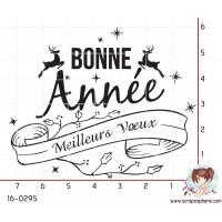 TAMPON BONNE ANNEE ET MEILLEURS VOEUX par Lily Fairy