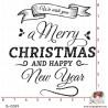 TAMPON MERRY CHRISTMAS
