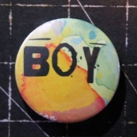 BADGE 3.8 cm - BOY par Lily Fairy