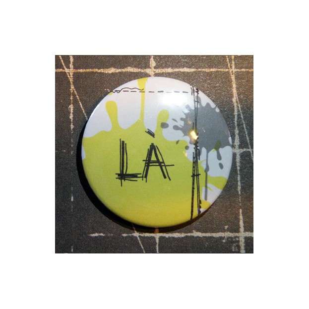 BADGE 3.8 cm - COUTURE LA JAUNE par Lily Fairy