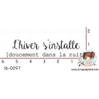 TAMPON L HIVER S INSTALLE par Crearel