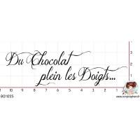 TAMPON DU CHOCOLAT PLEIN LES DOIGTS par Cigalon
