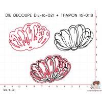 DIE SCRAPOSPHERE FLEUR + TAMPON 16-0118