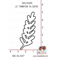 DIE DECOUPE TAMPON (petite) BRANCHE 16-0245